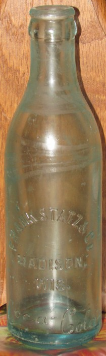Frank Statz Co. Coca Cola bottle