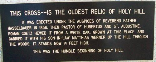 Holy Hill Cross History