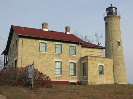 Southport lighthouse in Kenosha