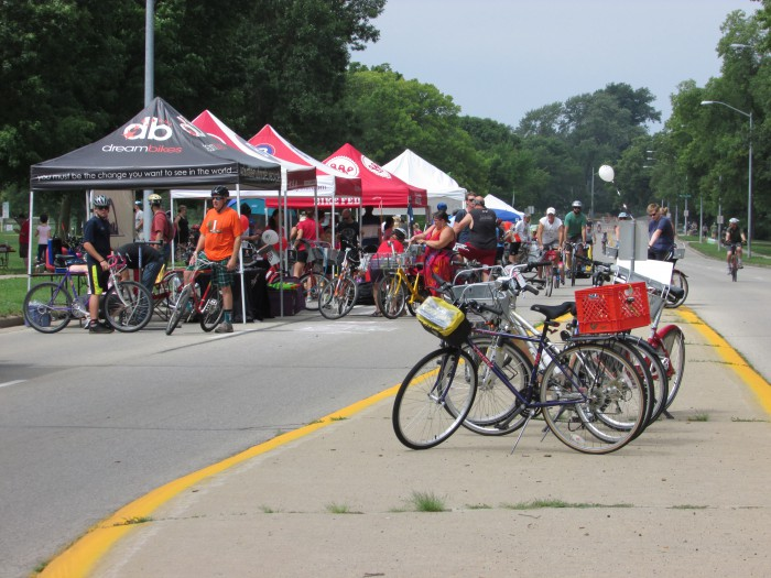 Olbrich Village at Ride the Drive Eastside