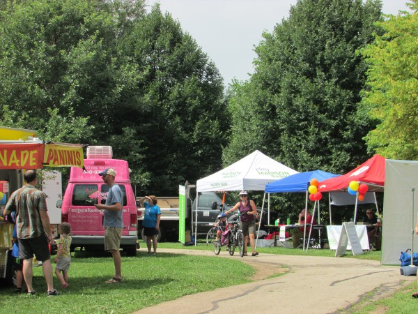 O.B. Sherry Park at Ride the Drive Eastside
