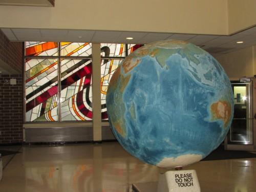Madison Geology Museum Globe