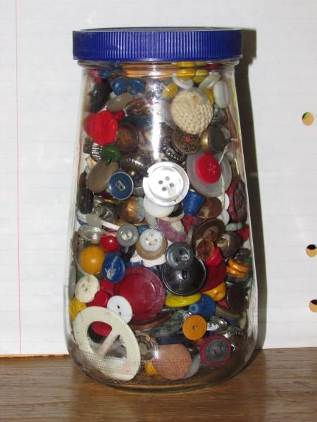 Button jar