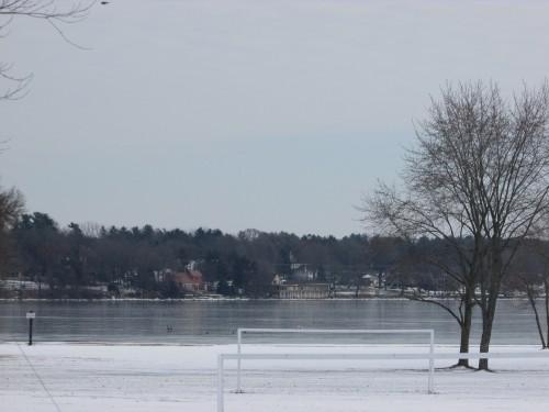 Lake Ripley in Winter
