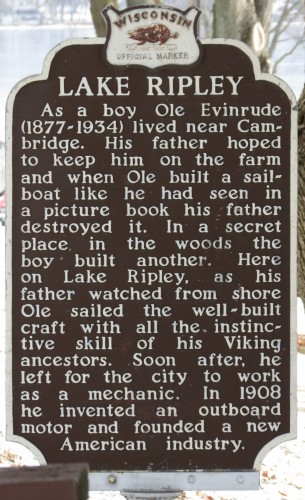 Ole Evinrude outboard motor inventor