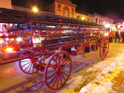 1902 Fire ladder wagon