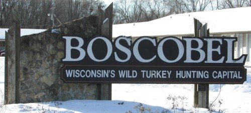 Boscobel sign