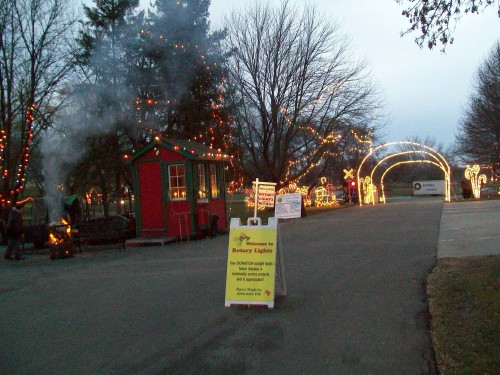 Waunakee Lights Entrance