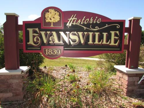 Evansville sign