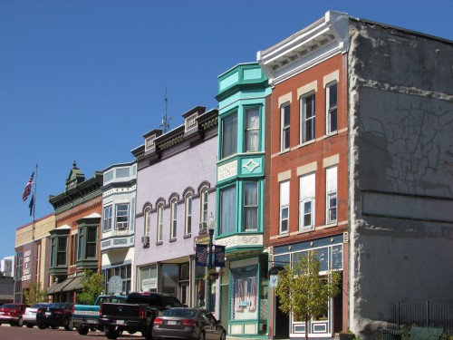 Evansville downtown