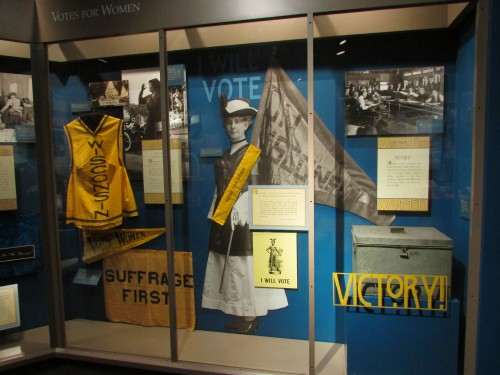 Suffrage display