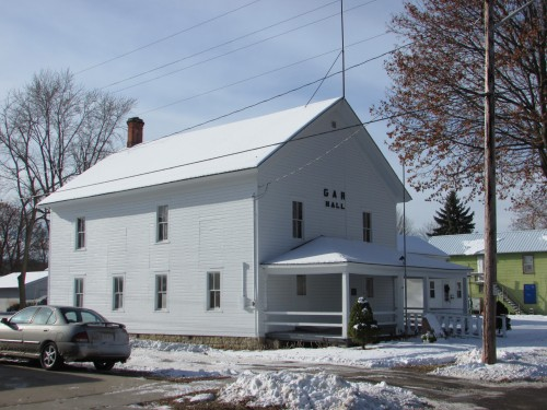 G.A.R. Hall in Boscobel