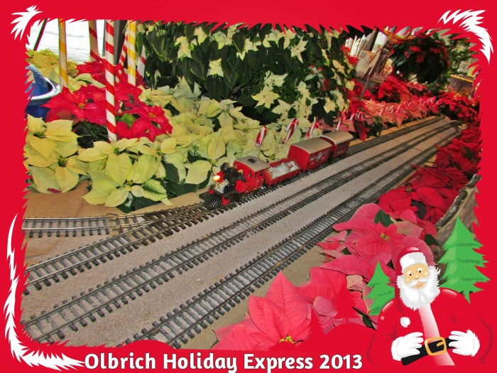 Olbrich Garden Holiday Express frame