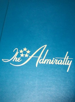 The Admiralty menu