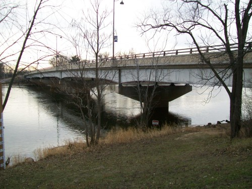 Bridge over Wisconsin River