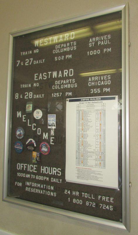 Amtrak Schedule in Columbus