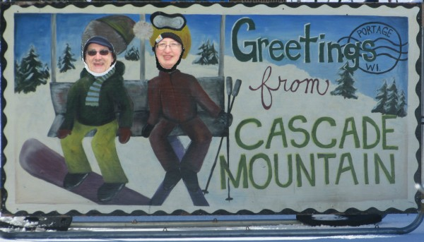 Cascade Mountain cut out with us