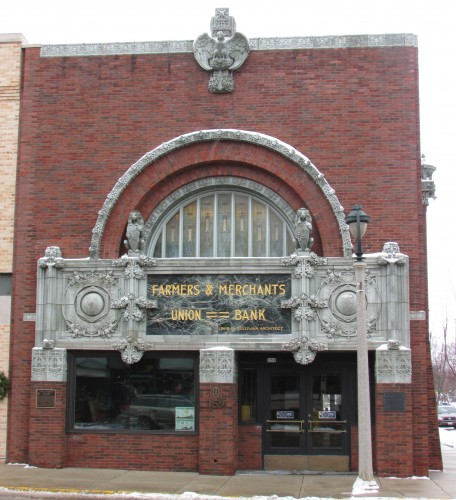 Farmers and Merchants Union Bank in Columbus