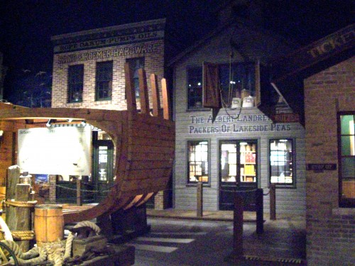 Fishing village in Museum in Manitowoc