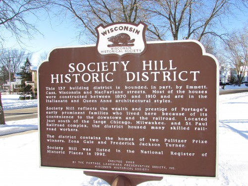 Society Hill Historic District sign