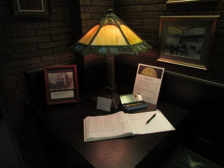Louis Sullivan Bank gift lamp