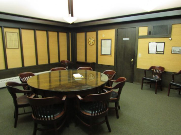 Farmers and Merchants Union Bank meeting room