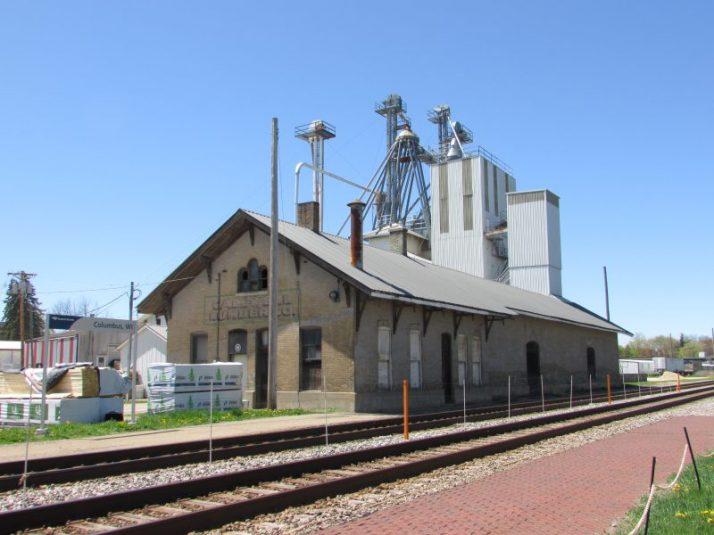1864 Columbus depot