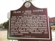 Frank J. Hess sign back