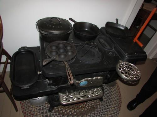 Kitchen Wood stove