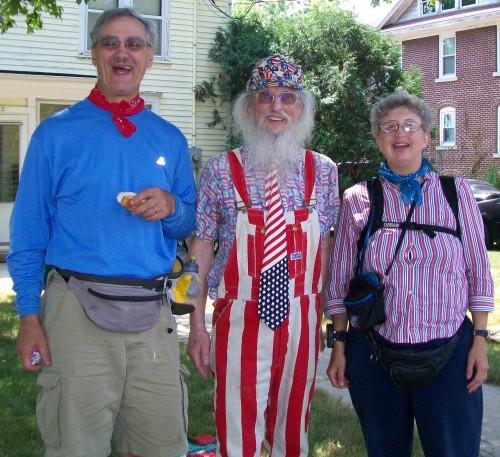 July 4 in Columbus Patriotic guy
