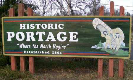 Portage sign