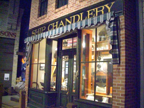 Ship Chandlery display at Manitowoc Museum