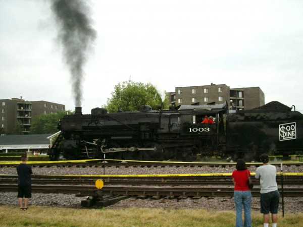 Soo Line Steam Train