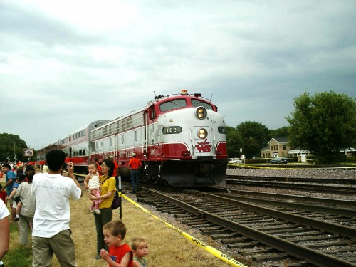 Wisconsin and Southern train