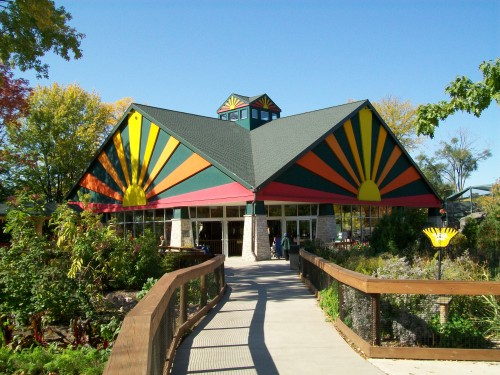 Children Zoo indoor animal building