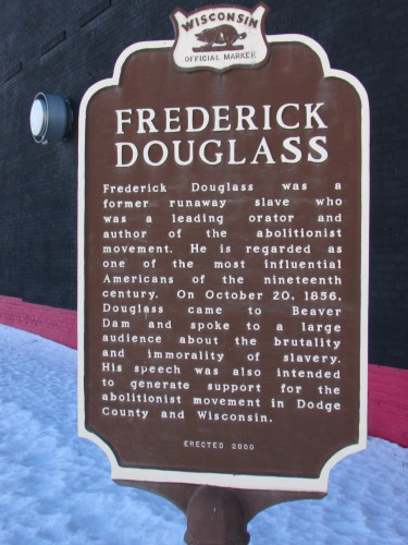 Frederick Douglass marker