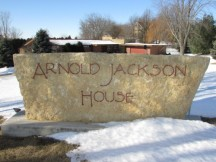 Arnold Jackson House sign