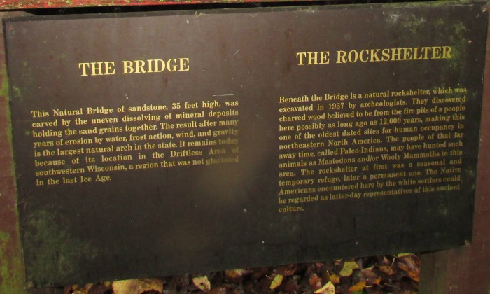 Natural bridge history