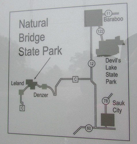 Natural Bridge State Park location
