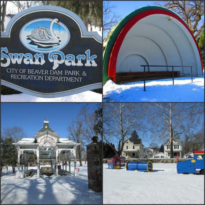 Swan Park in Beaver Dam