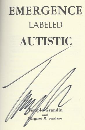 Temple Grandin Signature