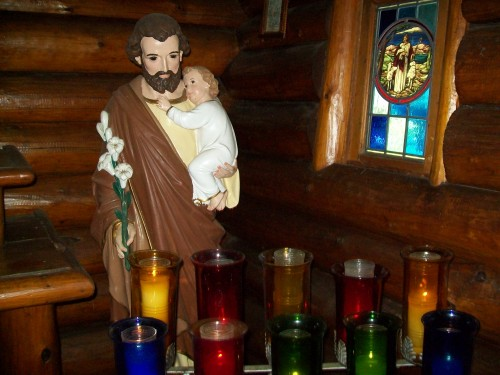 inside St. Jude's Chapel