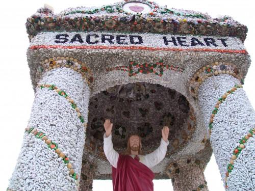 Sacred Heart Shrine closeup
