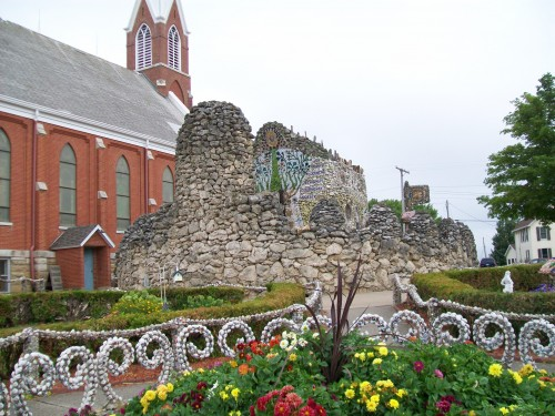 Dickeyville Grotto view