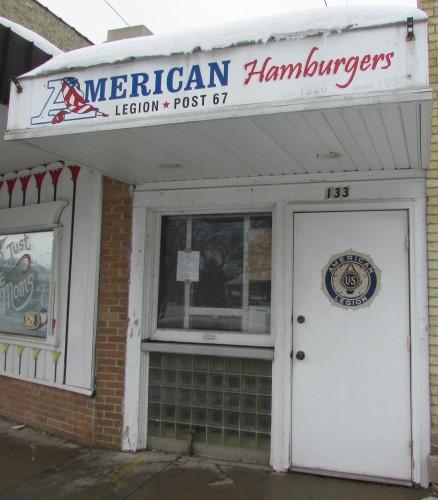 American Legion Slider Stand