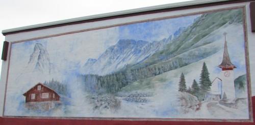 Argyle mural