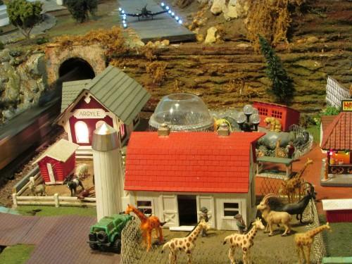 Depot and barn