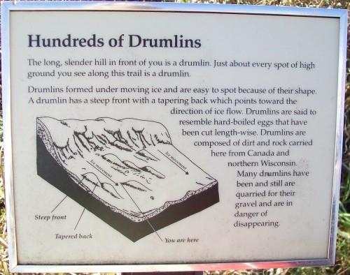 Drumlin sign