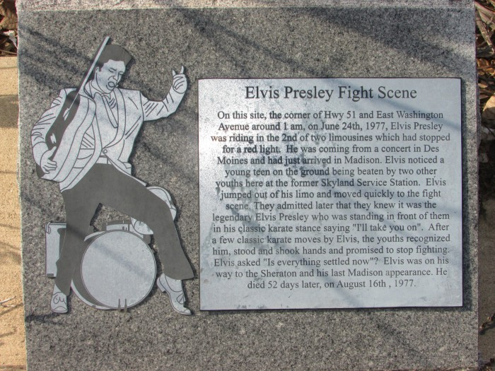 Elvis fight scene marker
