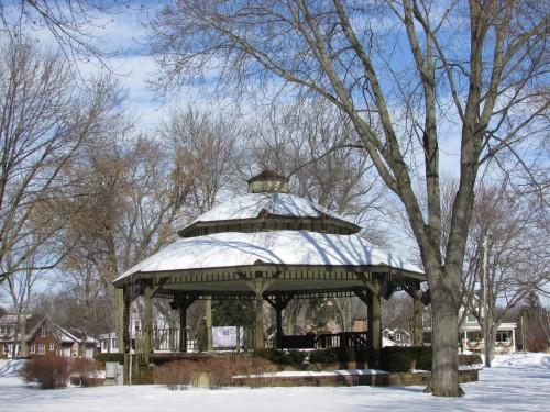 Commons Park gazebo